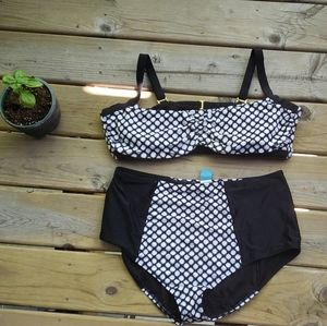 Swimsuits For All matching two piece bikini